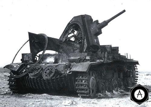 взорванный т-3