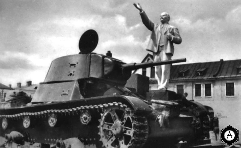 Владимир Ильич и Т-26