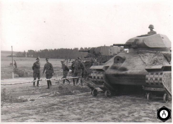 немецкие макеты советских танков