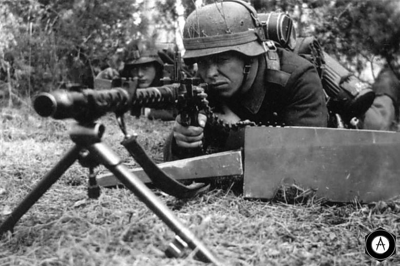 пулемётчик MG34