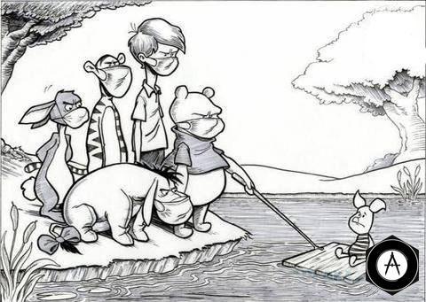 Винни-Пух и свиной грипп