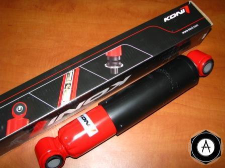 912377 Амортизатор BPW 350mm 540mm 24*55