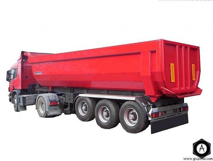 прицеп самосвал для сыпучих грузов