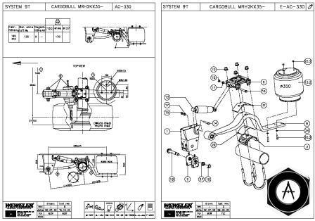 Электрическая схема автокрана
