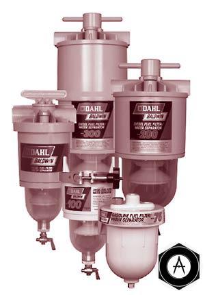 Топливные фильтры-сепараторы с подогревом Baldwin DAHL США