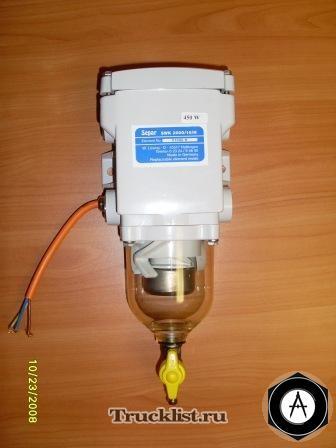 Фильтр топливный с подогревом Separ 2000-10H 24В