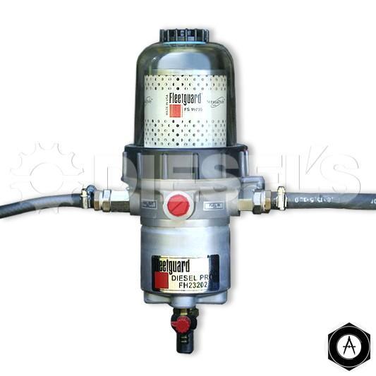 Фильтр-водоотделитель с подогревом топлива