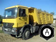 Мерседес-Бенц AСTROS 3336К 6X43900 кузов Meiller 16 м3