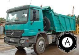 Мерседес-Бенц AСTROS 3341AK 6X63900 кузов Meiller 16 м3