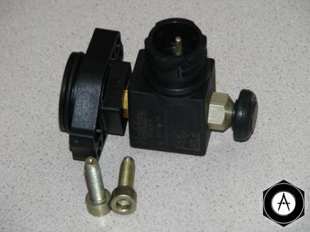 950352111, 6000132 Рмк электромагнитного клапана крана управления платформой Kogel