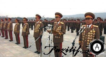 заслуженные корейские енералы