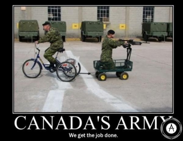 тачанка по канадски
