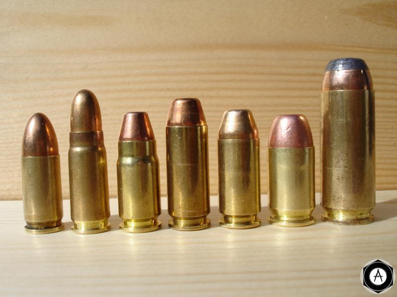 пистолетные патроны 9mm/7,62mm/357sig/10mm/45SW/45GAP/50AE002