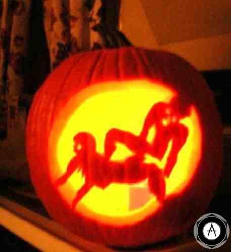 Naughty Pumpkin Тыква-ночник