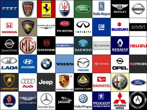 История и эволюция автомобильных логотипов