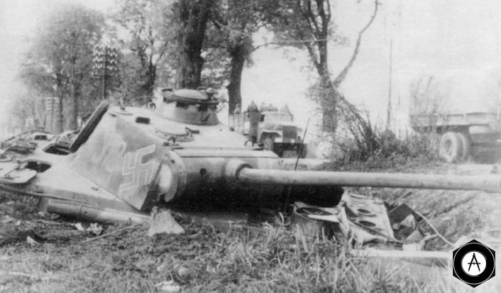 Апрель 1945, под Берлином