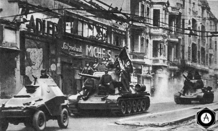 Берлин 1945 танкисты