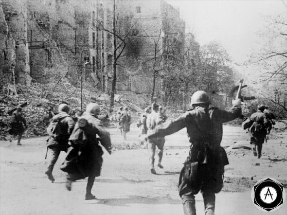 Берлин апрель 1945 г