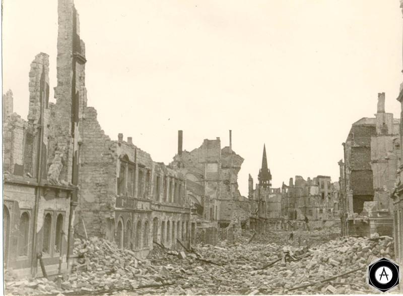 берлин в руинах 1945