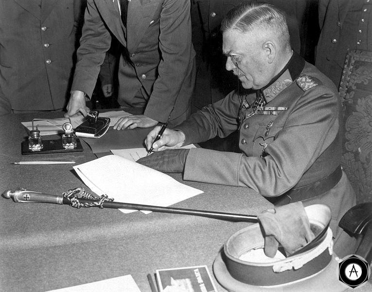капитуляция Германии 1945