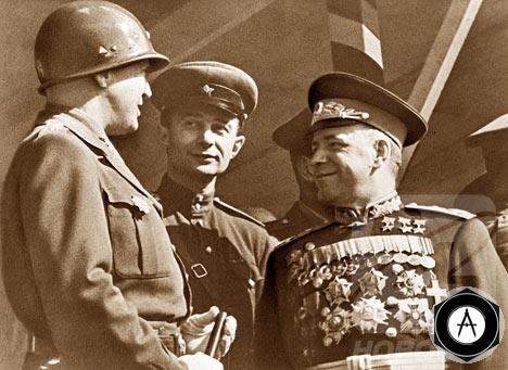 Парад Победы 1945 года Москва