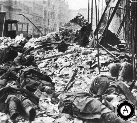 руины Берлина 1945