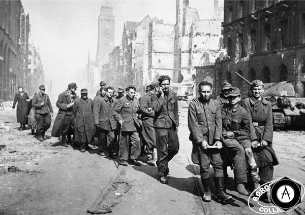 снова пленные немцы