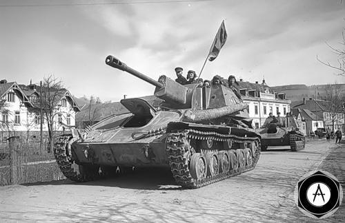 СУ-76 по Германии