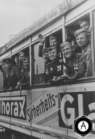 трофейный трамвай