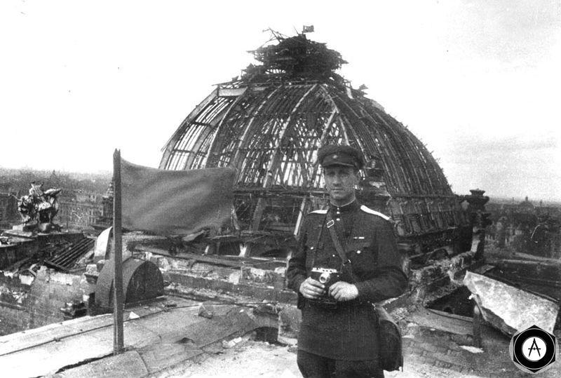 у купола РейхСтага