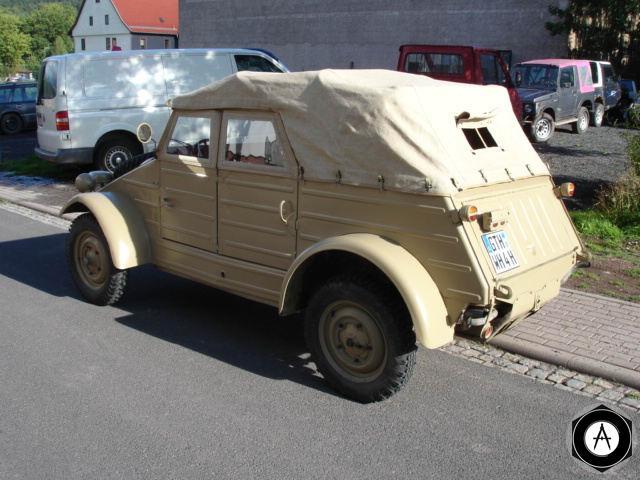 Kubelwagen Фольксваген82 rear