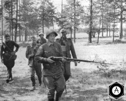пленённые в 1941 немцы