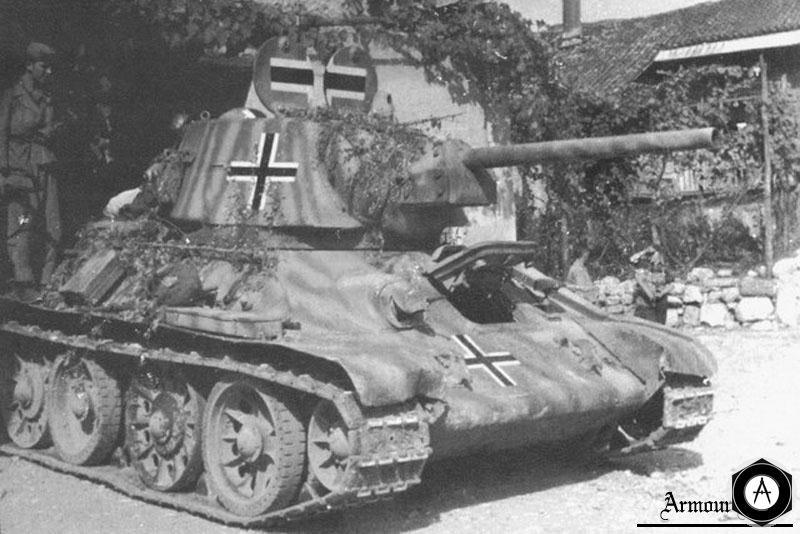 Т-34 на службе СС