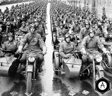 Парад победы 24 июня 1945 Москва