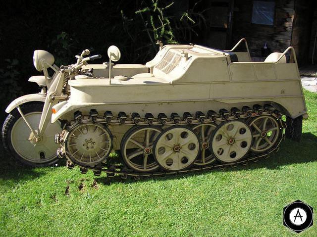 Stoewer Sdkfz 2 Kleines Kettenkraftrad