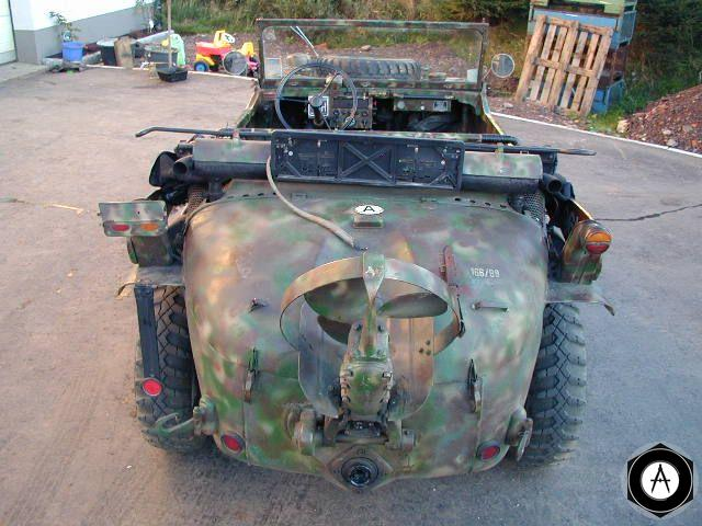 Фольксваген 166 rear