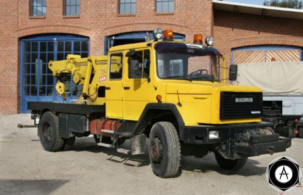 Magirus IVECO 160-23 ANW Abschleppwagen