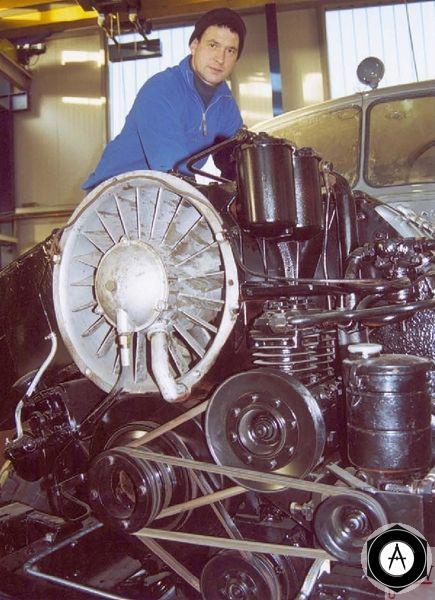 отремонтированный двигатель DEUTZ
