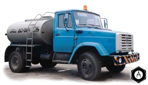 ЗИЛ ДС-39Б автогудронатор