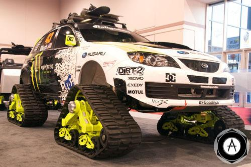 гусеничный 500xKen Block Tracked Subaru
