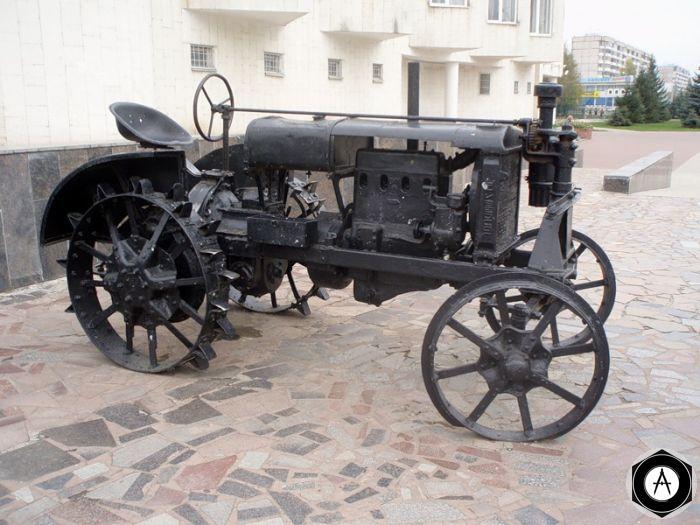 Белгород раритетный трактор