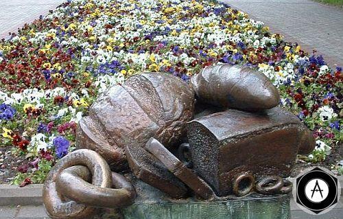 Зеленогорск,Ленинградская область Памятник хлебо-булочным изделиям