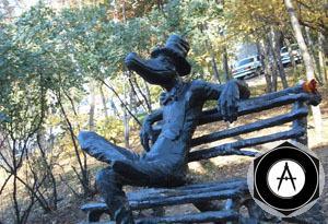 Ижевск Памятник Крокодилу