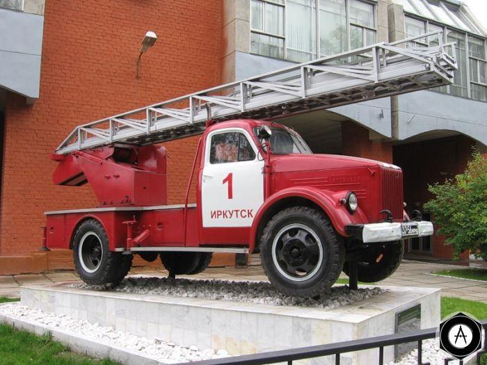 ИРКУТСК Пожарная машина ГАЗ-51