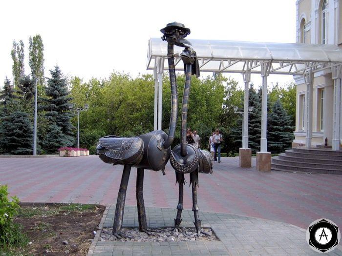 Липецк Два страуса