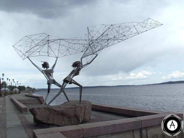 Петрозаводск Рыбаки