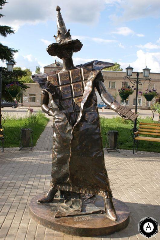 Покров Памятник шоколаду