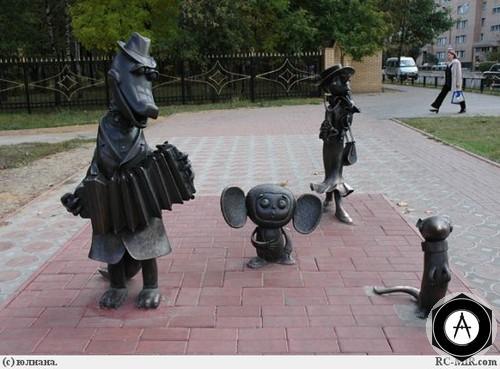 Раменское Я играю на гармошке Крокодил Гена и Чебурашка