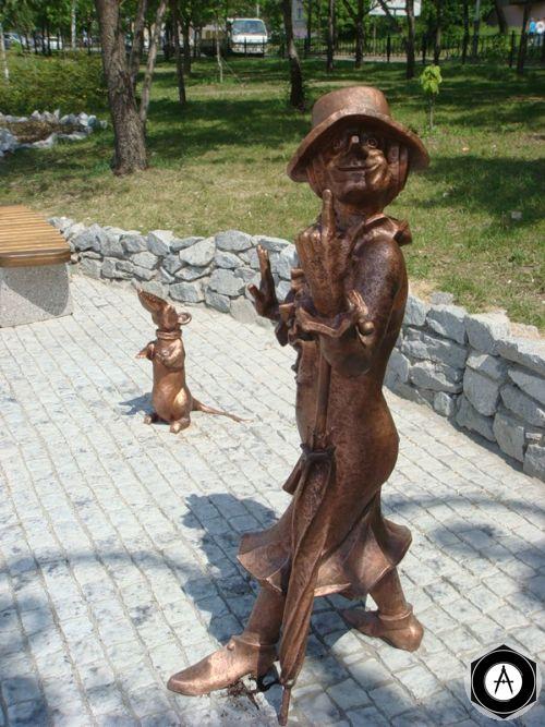 ХАБАРОВСК Старуха Шапокляк с крыской Лариской