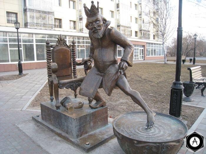 Царь в сказке Конёк-Горбунок